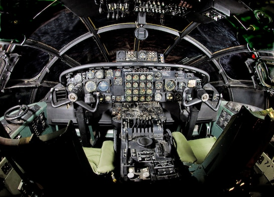 DAYTON, Ohio -- Convair B-36J cockpit at the National Museum of the United States Air Force. (Photo courtesy of John Rossino, Lockheed Martin Code One)