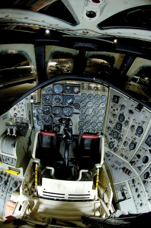 DAYTON, Ohio -- Convair B-58 Hustler cockpit at the National Museum of the United States Air Force. (Photo courtesy of John Rossino, Lockheed Martin Code One)