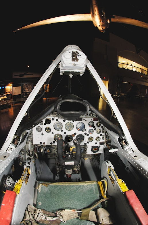 DAYTON, Ohio -- Convair F-102A cockpit at the National Museum of the United States Air Force. (Photo courtesy of John Rossino, Lockheed Martin Code One)