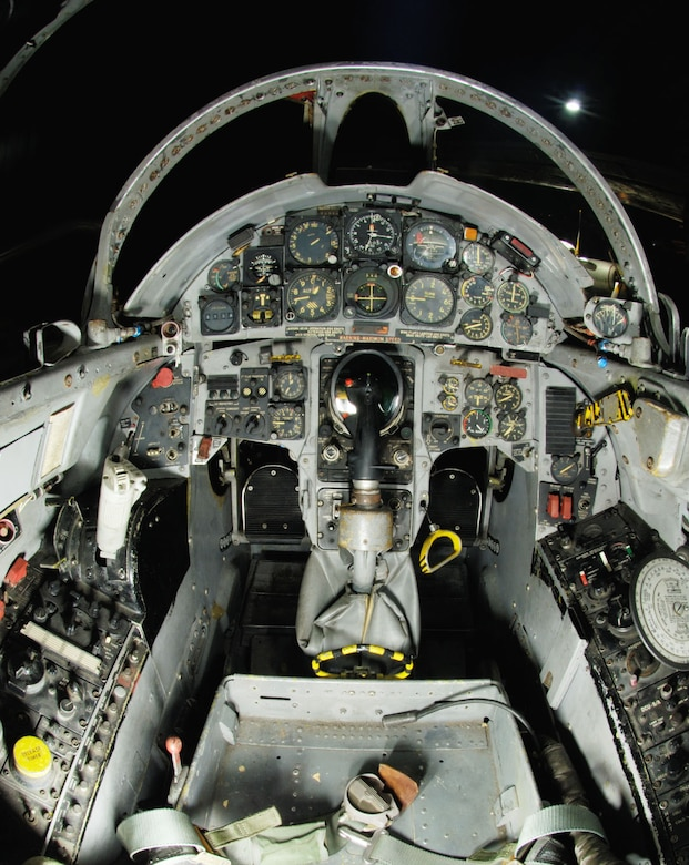 DAYTON, Ohio -- Lockheed F-104C cockpit at the National Museum of the United States Air Force. (Photo courtesy of John Rossino, Lockheed Martin Code One)