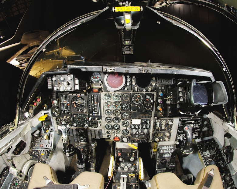 DAYTON, Ohio -- General Dynamics F-111F cockpit at the National Museum of the United States Air Force. (Photo courtesy of John Rossino, Lockheed Martin Code One)