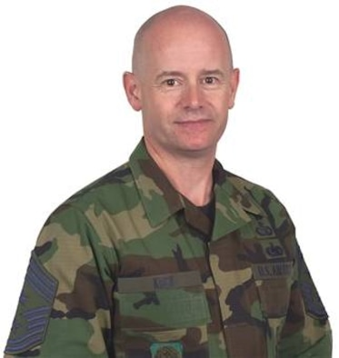 Chief Master Sgt. Russell Kuck, 62nd Airlift Wing chief master sergeant