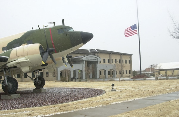 The Norma Brown Building at Goodfellow Air Force Base, Texas. (U.S. Air Force photo by Airman 1st Class Luis Loza Gutierrez)
