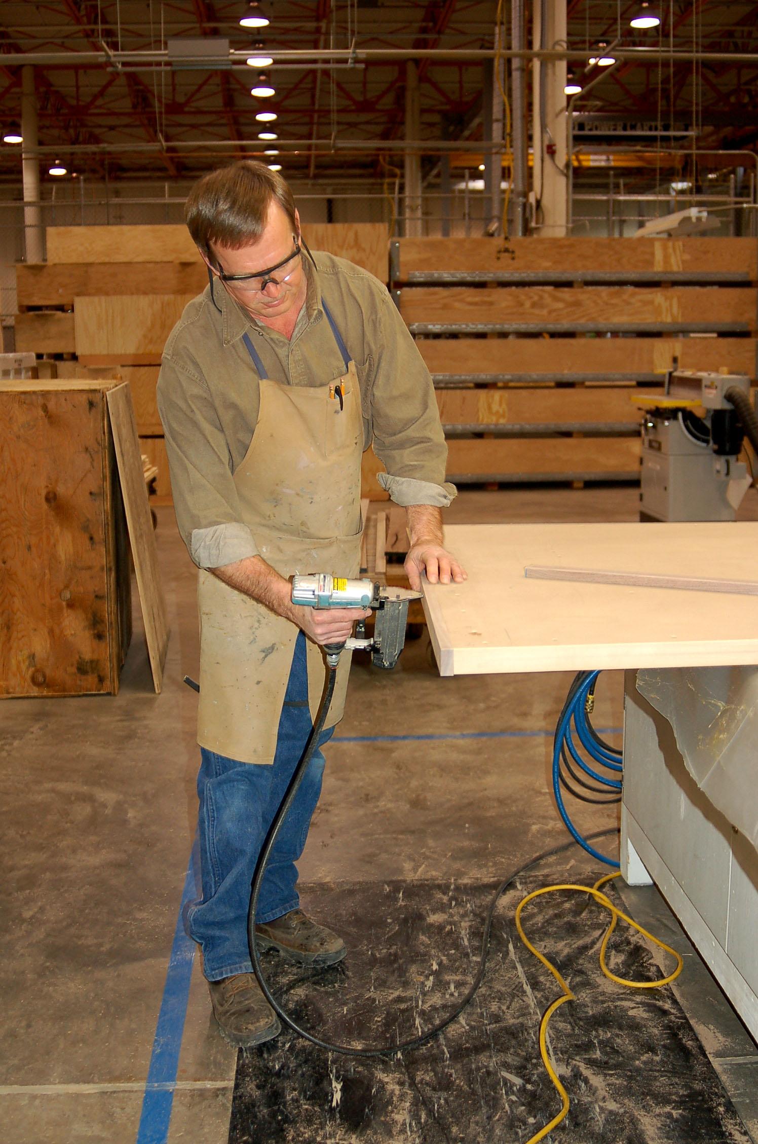Wood shop key player in aircraft repair work > Hill Air