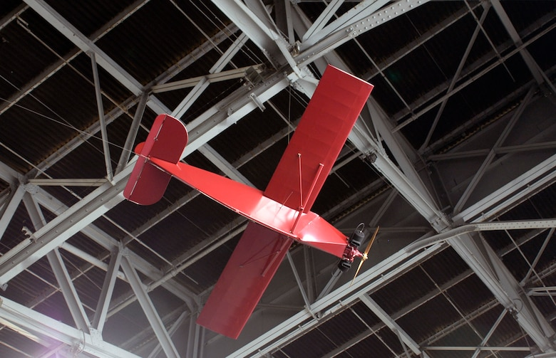 DAYTON, Ohio -- Radioplane OQ-14 in the Research & Development Gallery at the National Museum of the United States Air Force. (U.S. Air Force photo)