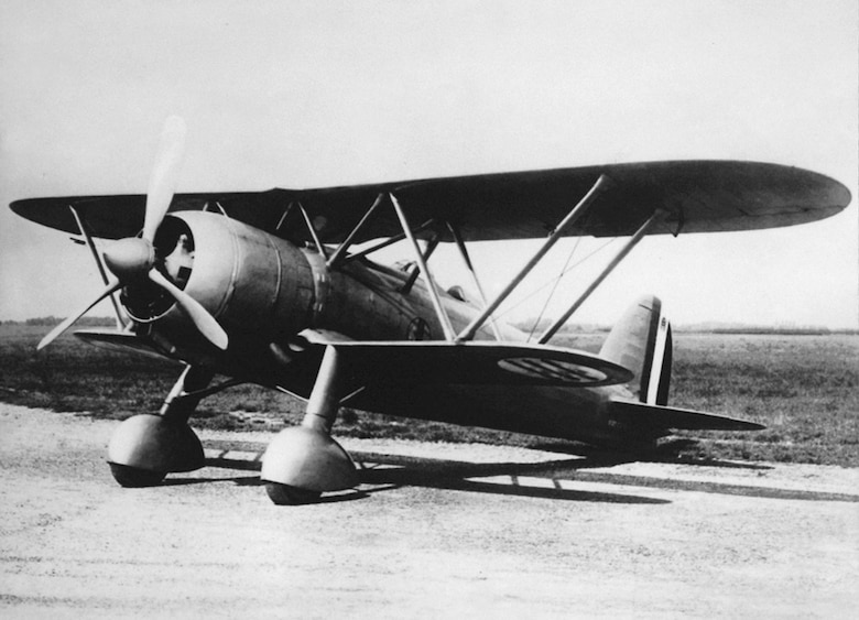 Many CR-42 pilots were killed while flying this obsolete biplane fighter against modern Allied types. (U.S. Air Force photo)