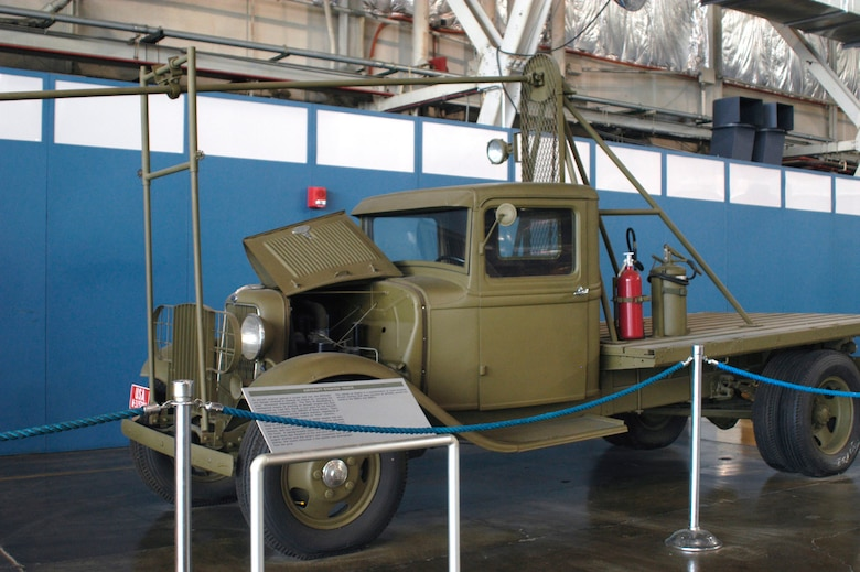 DAYTON, Ohio -- Aircraft Starter Truck on display in the Presidential Gallery at the National Museum of the United States Air Force. (U.S. Air Force photo)