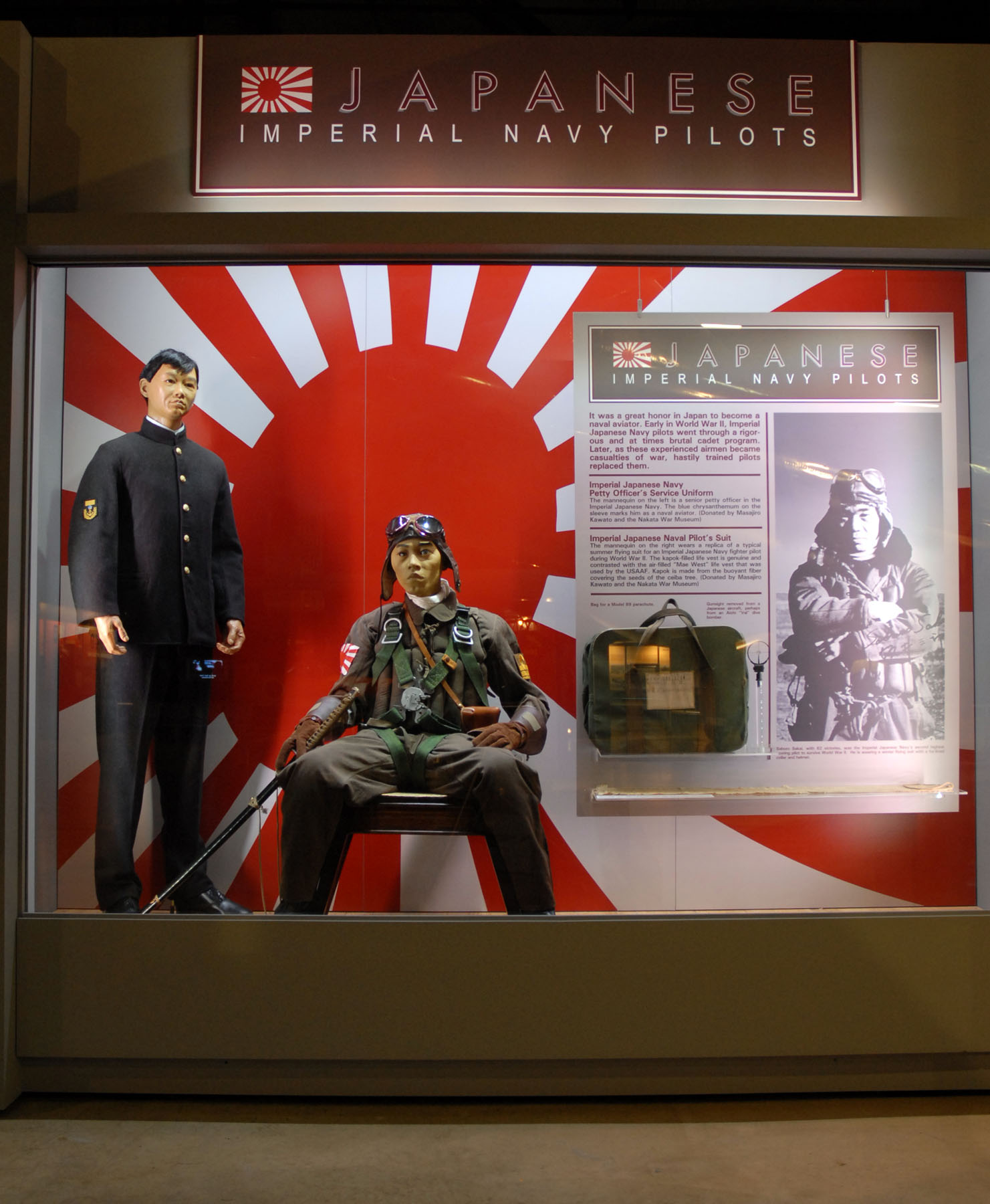 WWII Imperial Japanese Navy Aircrews > National Museum of the US Air