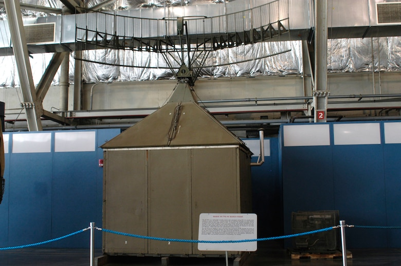 DAYTON, Ohio -- Bendix AN/TPS-1B Search Radar at the National Museum of the United States Air Force. (U.S. Air Force photo)