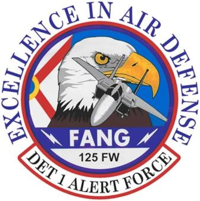 Detachment 1, 125th Fighter Wing shield