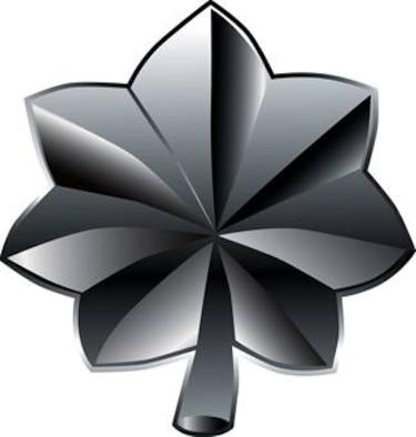 Lieutenant Colonel, O-5 (color), U.S. Air Force graphic