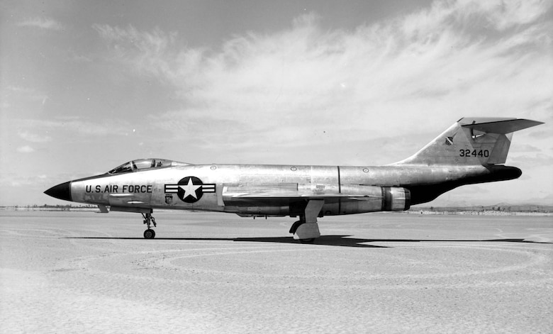 McDonnell F-101A (S/N 53-2440) at Edwards Air Force Base, Calif. (U.S. Air Force photo)