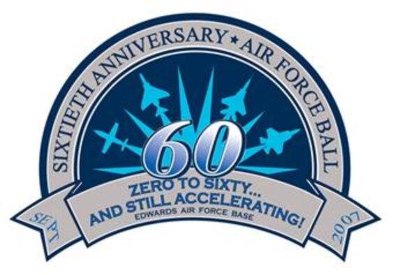 Edwards Air Force Ball 2007 logo