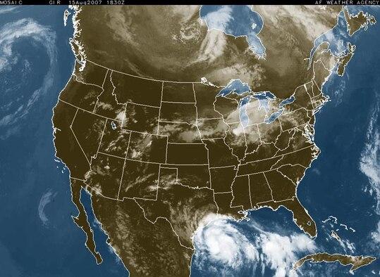 AF Satellite image