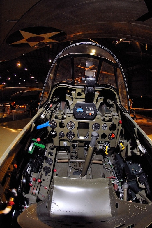 DAYTON, Ohio - Mitsubishi A6M2 Zero cockpit at the National Museum of the U.S. Air Force. (U.S. Air Force photo)