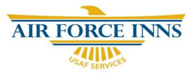 Air Force Inns logo; 5 inches by 2 inches at 300 dpi