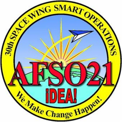 Vandenberg's AFSO 21 and IDEA office logo