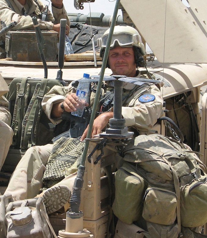 Tech. Sgt. Scott Innis, a combat controller with the 22nd Special Tactics Squadron, is pictured during his 2006 deployment to Afghanistan. During this deployment, Sergeant Innis served as a joint terminal air controller attached to an Army Special Forces team. One day, his team's forward operating base came under heavy enemy fire. Sergeant Innis risked his life by climbing up a small, wooden observation tower in the middle of the base in order to direct close air support against the enemy. Despite making himself a magnet for bullets and rocket propelled grenades, the combat controller stayed in the tower for 24 hours directing fire, resulting in the elimination of more than 100 enemy fighters. Sergeant Innis was presented a Silver Star Dec. 18 for his actions that day in Afghanistan. (Courtesy photo)