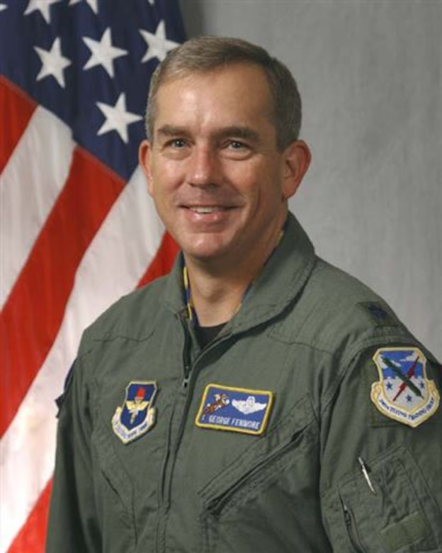 Lt. Col. George Fenimore, 96th Flying Training Squadron commander