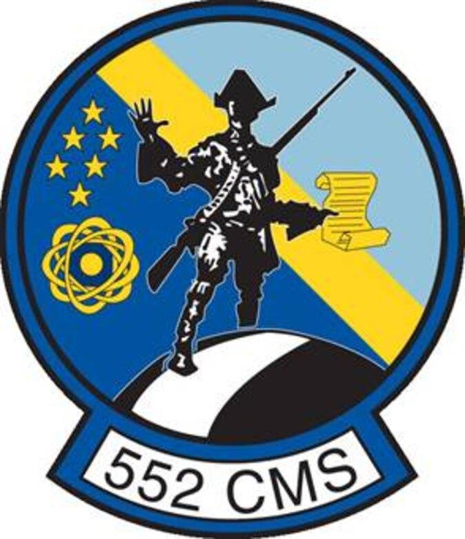 552ND COMPONENT MAINTENANCE SQUADRON PATCH