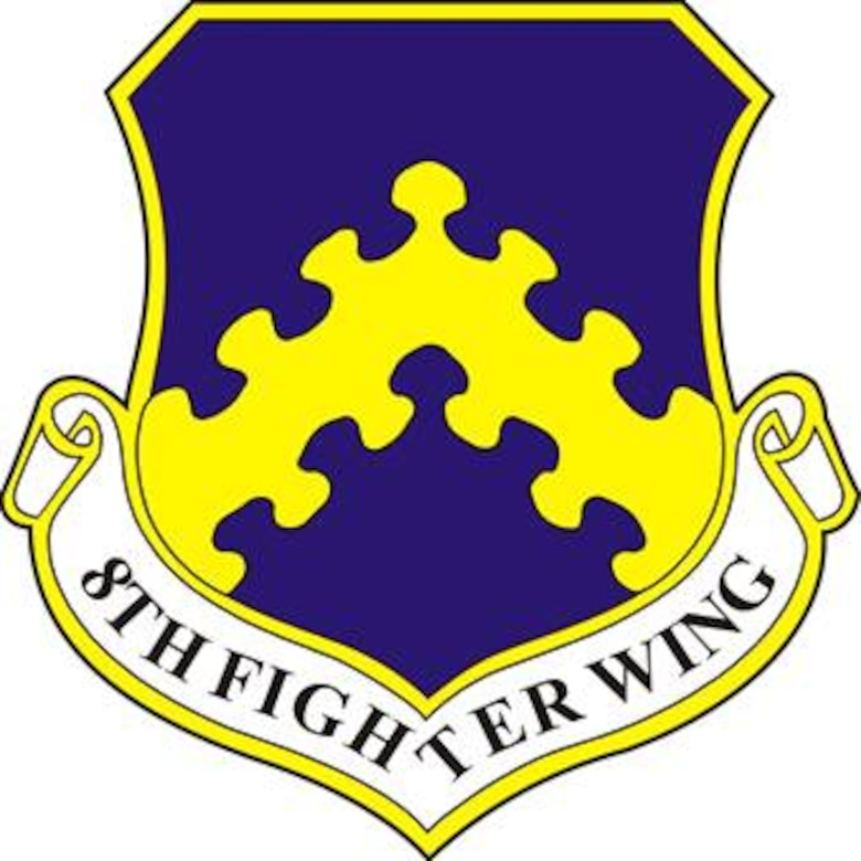 "8th Fighter Wing ""Wolf Pack""."