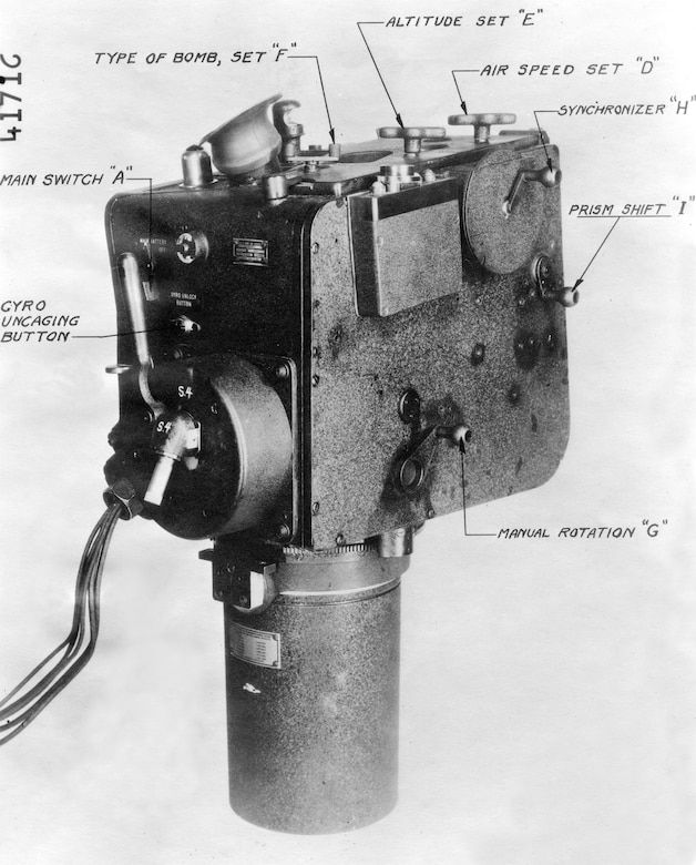 Like so many other bombsights, the Inglis L-1 (1932) also proved inferior to the Norden bombsight. (U.S. Air Force photo)