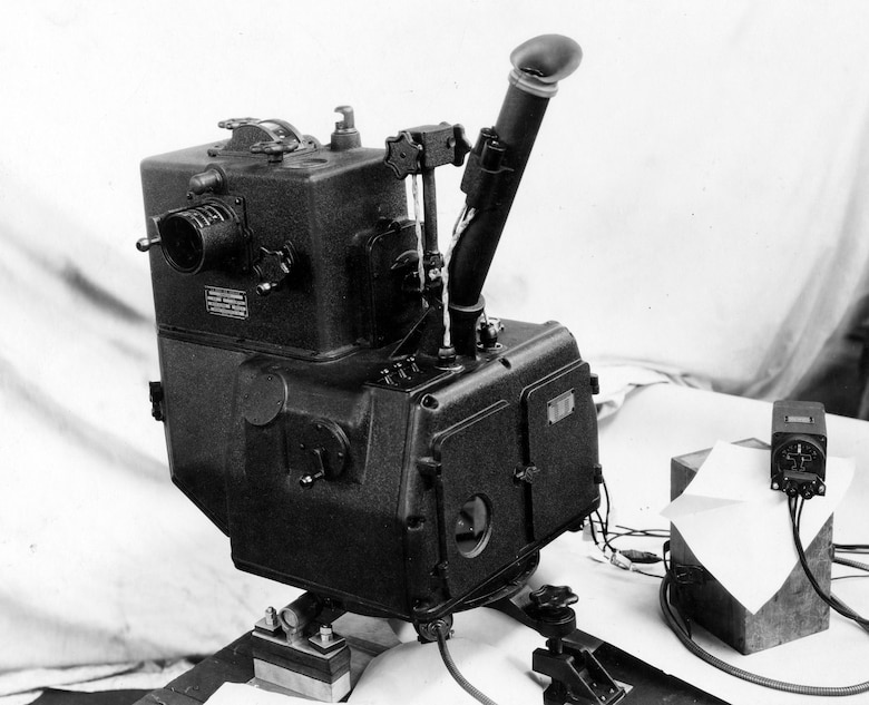 Sperry Gyroscope continued designing bombsights throughout the 1920s, but none proved satisfactory to the Army. The Sperry C-4 bombsight of 1932 could not match the accuracy of the Norden bombsights under development for the U.S. Navy. (U.S. Air Force photo)