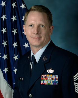 Chief Master Sergeant Tim Bolon, 28th Civil Engineer Squadron first sergeant