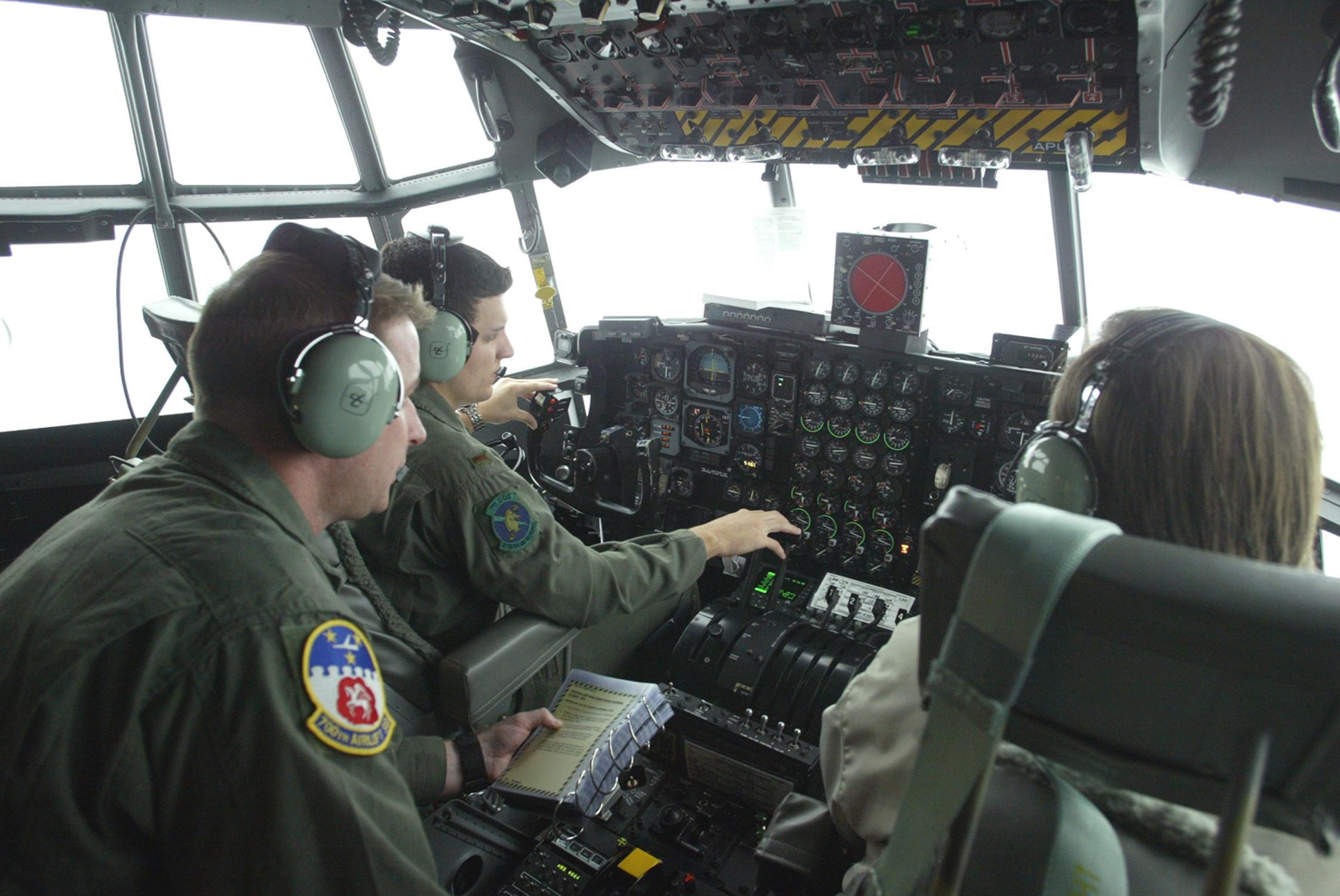 Dobbins Eastern Regional Flight Simulator flight training device