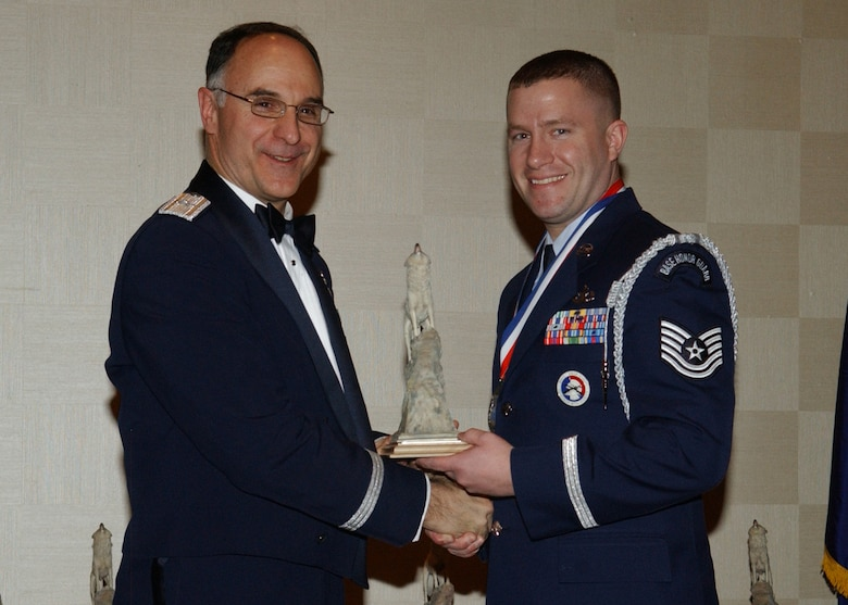 EIELSON AIR FORCE BASE, Alaska -- The 354th Fighter Wing 2006 Honor Guardsman of the Year is Technical Sgt Michael Roxberry.