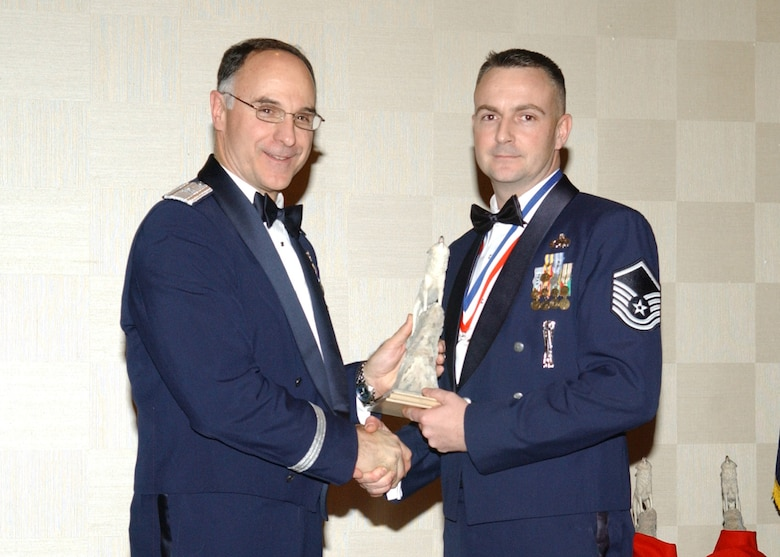 EIELSON AIR FORCE BASE, Alaska -- The 354th Fighter Wing 2006 Senior Non Commissioned Officer of the Year is Master Sgt Chuck Jenkins.