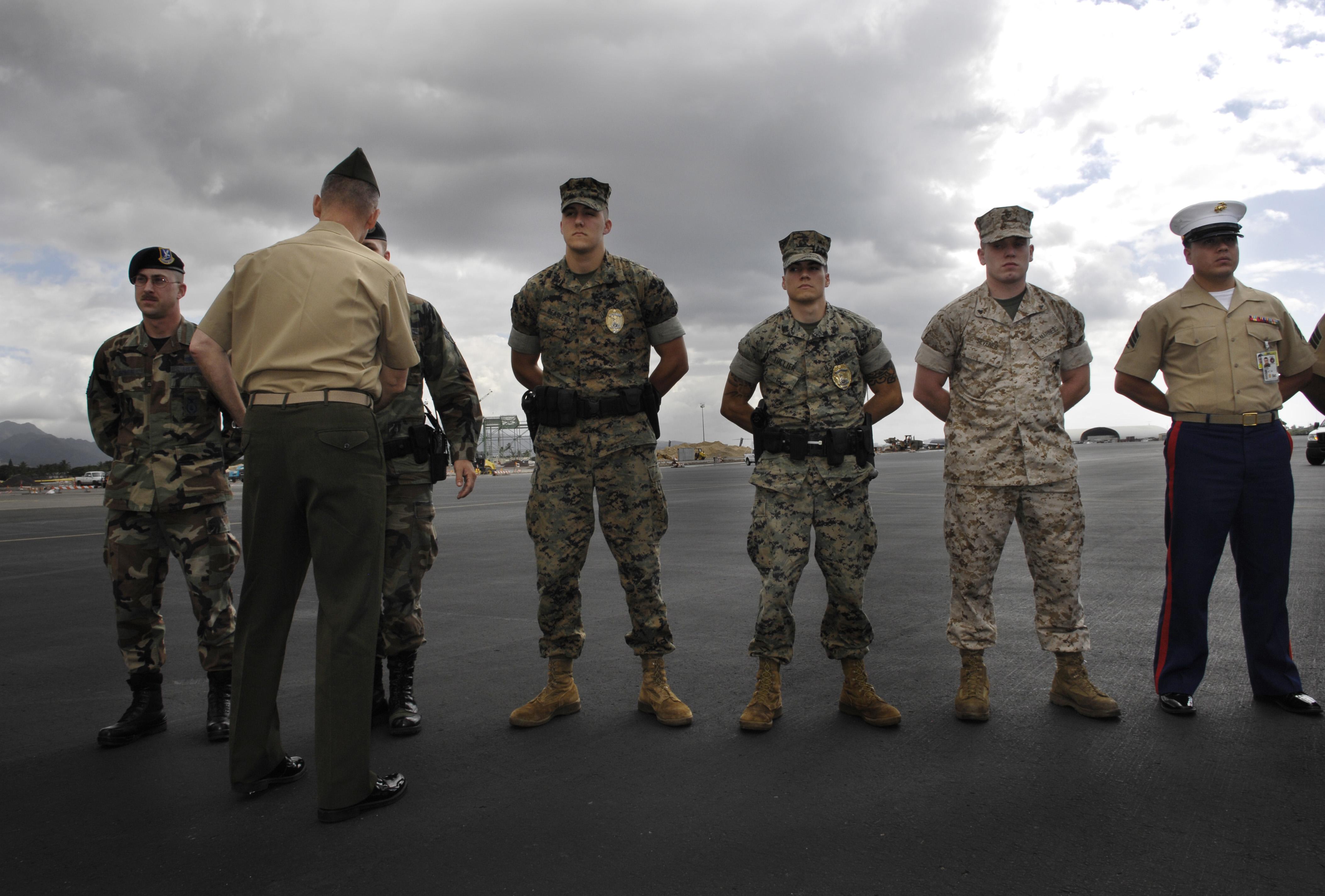US DEPARTMENT OF DEFENSE Photos Photo Essays Essay View - Us millitary instilation maps hawaii