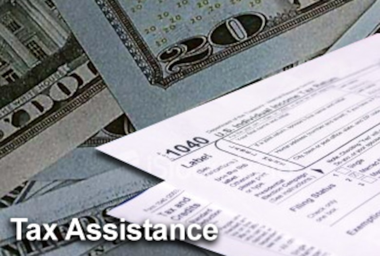 Despite recent manpower and budget cuts, Air Force bases are still offering personal tax assistance programs to their active duty, Guard, Reserve, civilian and retiree populations. (U.S. Air Force graphic/Luke Borland)