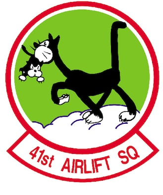 41st Airlift Squadron patch
