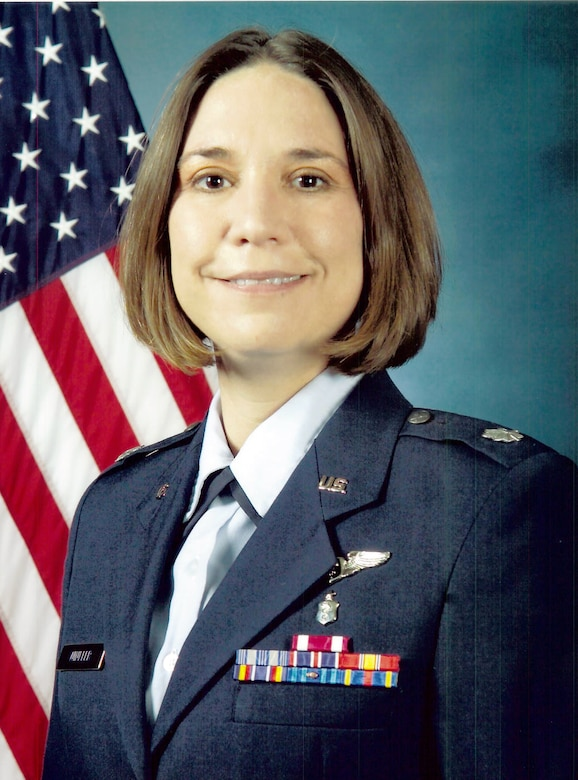 Lt. Col. Anita Winkler hails from Huntsville, Ala., and is the chief of aerospace medicine.