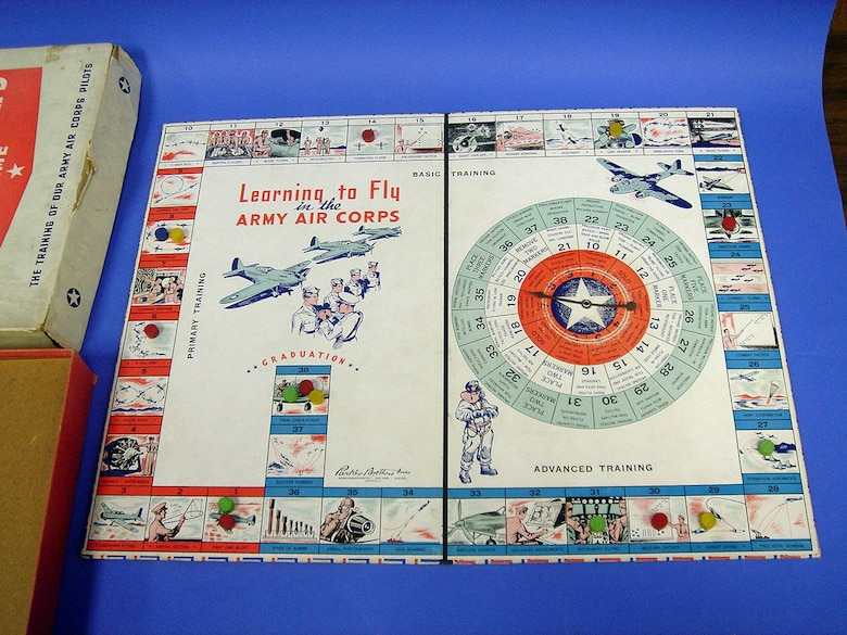 Army Air Corps game by Parker Brothers (1942). (U.S. Air Force photo)