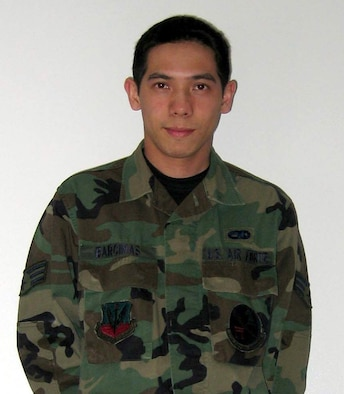 """Name: Senior Airman Rhandolf Barcinas Unit: 373d Support Squadron Duty title: Mission computer systems technician Hometown:  Northern Marianas Islands  """"Airman Barcinas has stepped up to be one of the prime leaders in his work center.  Recently, the work center has lost several qualified technicians due to permanent change of station and unit re-organizations.  Airman Barcinas quickly stepped up to fill the void by providing technical expertise, hands on training and being a positive role model to the junior technicians that recently arrived from technical school. """"   Tech. Sgt. Marvin Jordan Mission Computer Systems Maintenance NCO in charge"""