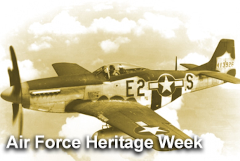 Columbus, Ohio has been selected to play host to Air Force Heritage Week in late September in conjunction with The Gathering of Mustangs and Legends being held at Rickenbacker International Airport Sept. 27-30. (U.S. Air Force illustration/Mike Carabajal)