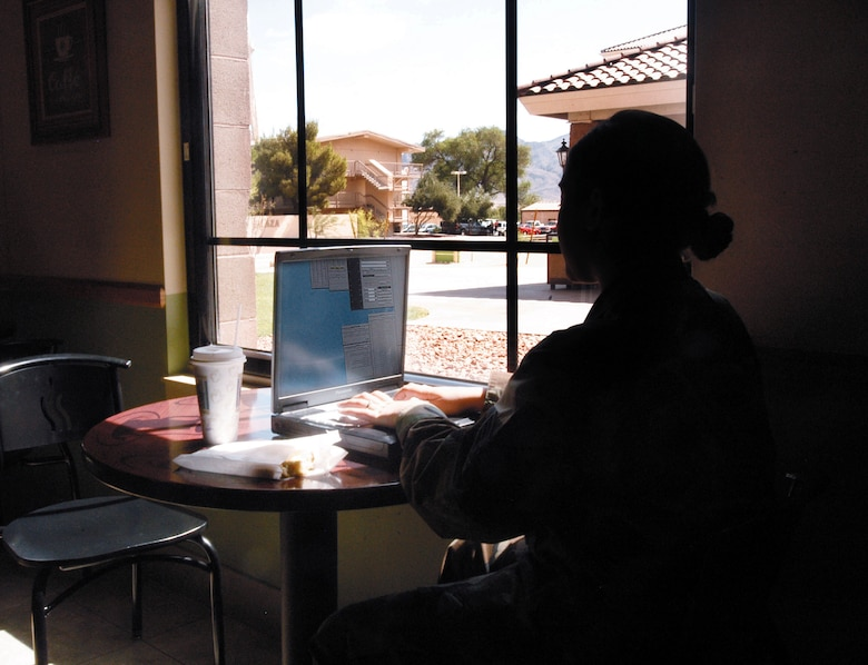 Airmen and their familes using home wireless networks may be leaving themselves open to hackers. The wireless security manager at Nellis Air Force Base, Nev., said more than half of the personal Wi-fi networks on base are not protected. (U.S. Air Force photo/Airman 1st Class Andrew Dumboski)