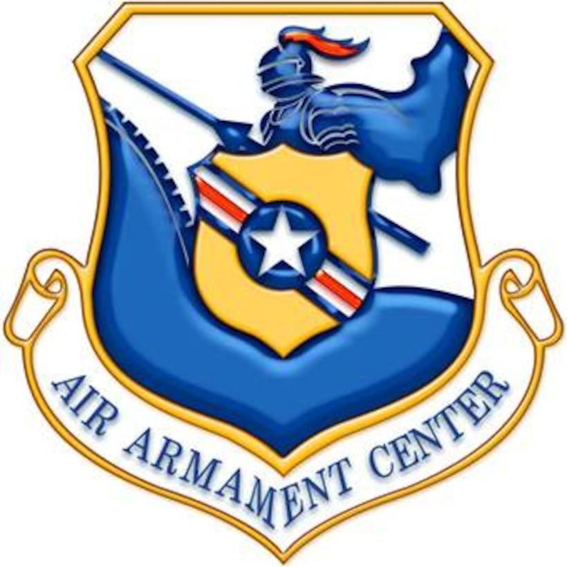 The Air Armament Center shield.