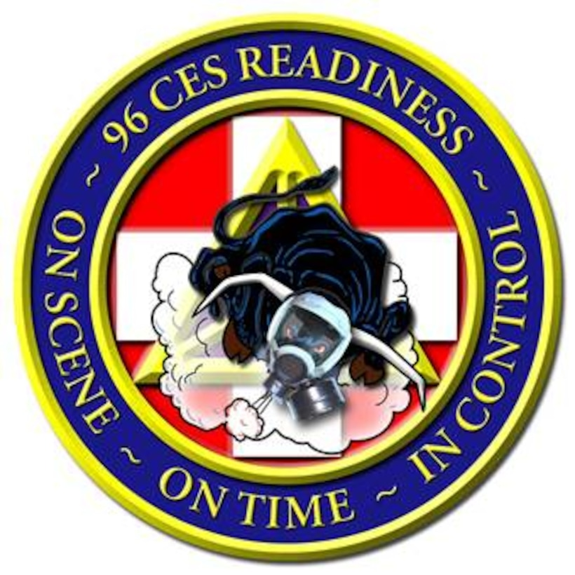 The 96th Civil Engineer Squadron Readiness patch.