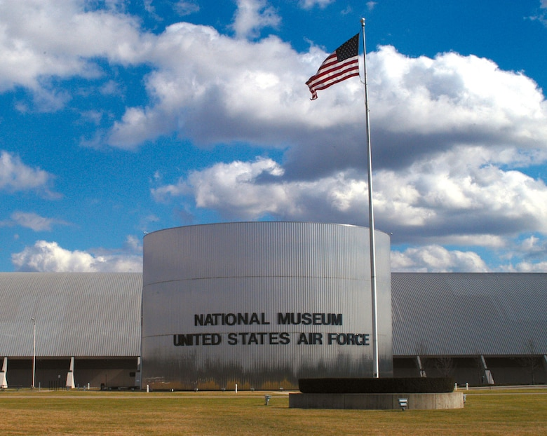 DAYTON, Ohio -- Front view of the National Museum of the United States Air Force. (U.S. Air Force photo)