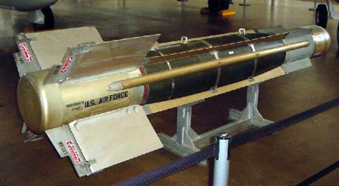 Rockwell International GBU-8 Electro-optical Guided Bomb