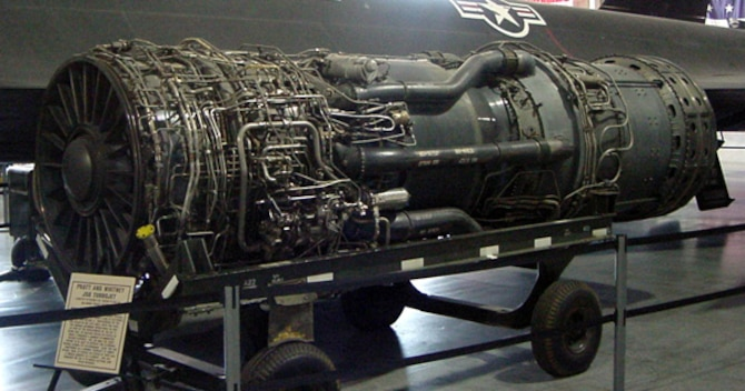 Pratt & Whitney J58 Turbojet Engine