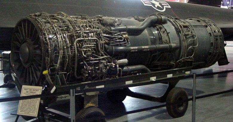 Pratt & Whitney J58 Turbojet Engine