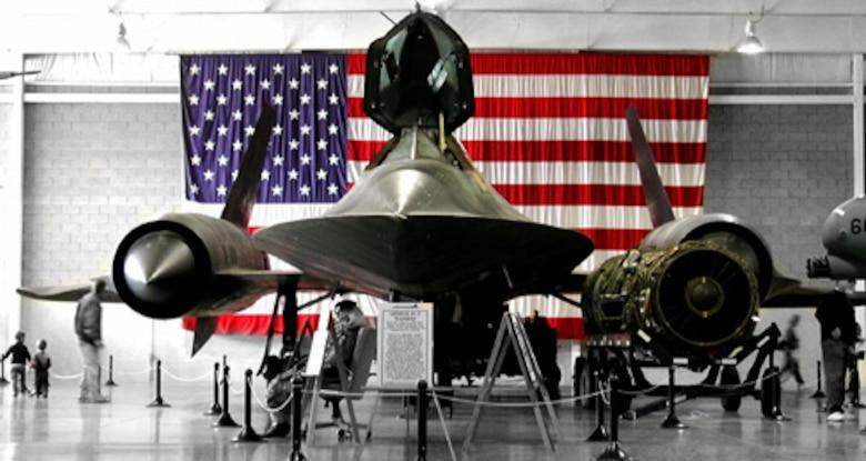 "Lockheed SR-71C ""Blackbird"" S/N 61-7981"
