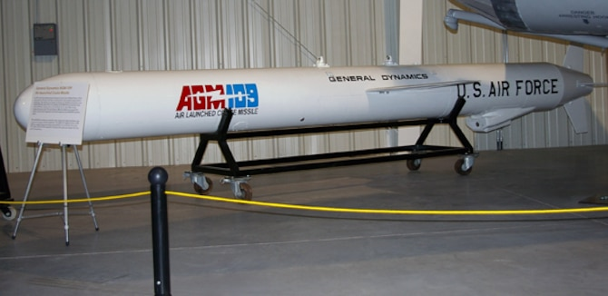 General Dynamics AGM-109 Air-launched Cruise Missile Test Body