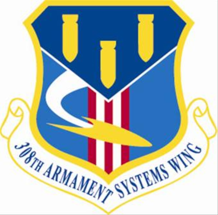 Official 308th Armament Systems Wing shield.