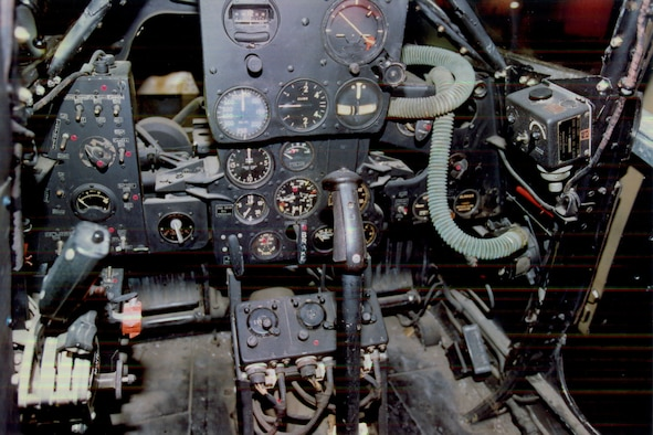 DAYTON, Ohio -- Bell P-39Q cockpit at the National Museum of the United States Air Force. (U.S. Air Force photo)