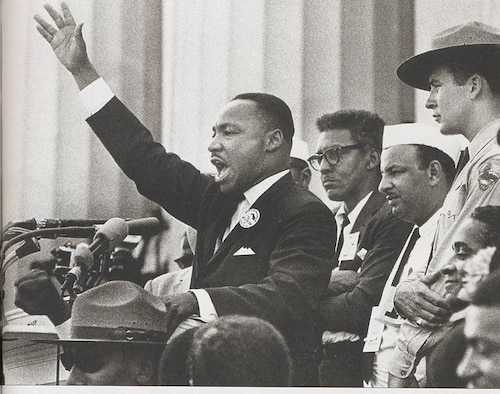 In observance for Martin Luther King Day, celebrated Jan. 15, the base will be honoring Dr. King with a moment of silence at 11:45 a.m. Jan. 16. Base members are encouraged to stop what they are doing during the moment of silence out of respect for Dr. King.